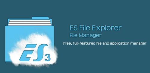 دانلود نرم افزار مدیریت فایل (فایل منیجر) ES File Explorer File Manager