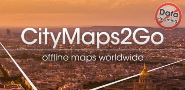 دانلود نرم افزار موقعیت یاب آفلاین City Maps 2Go Pro Offline Maps اندروید