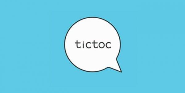 دانلود نرم افزار چت تیک تاک (Tictoc) اندروید