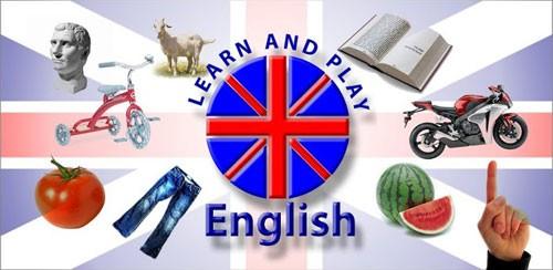 دانلود نرم افزار اموزش زبان انگلیسی اندروید Learn and play English