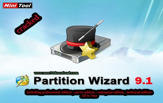 دانلود Partition wizard Professional 9.1 All edition