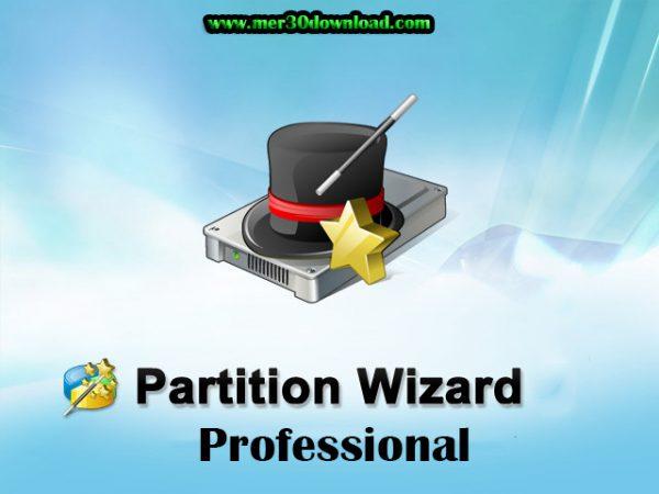 مدیریت و ویرایش پارتیشن Partition wizard Professional