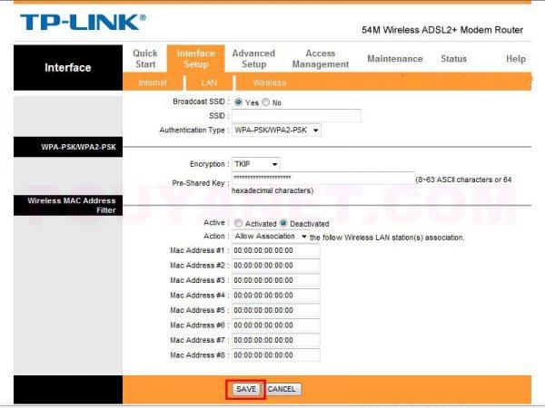 آموزش تصویری تغییر رمز WiFi مودم TP-Link