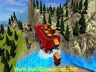 تصویر از محیط بازی 1.0 Truck Driver Cargo