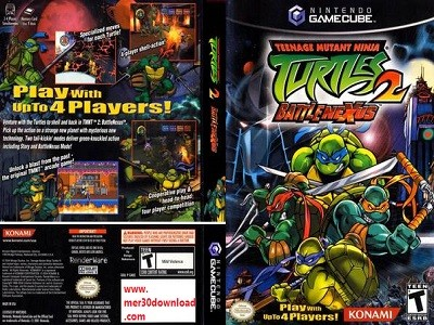 دانلود بازی Teenage Mutant Ninja Turtles 2 Battle Nexus