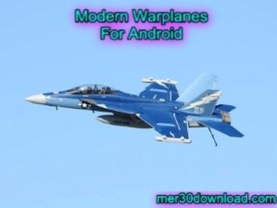 دانلود بازی هواپیمایی Modern Warplanes v1.1 اندروید - بازی جنگنده های مدرن اندروید
