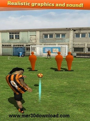 تصویری 2 از محیط بازی Street Soccer Flick Pro 1.06