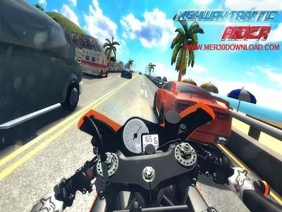 دانلود بازی موتور سواری در بزرگراه Highway Traffic Rider 1.5.3