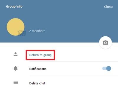آموزش بازگشت به گروهای حذف شده از تلگرام