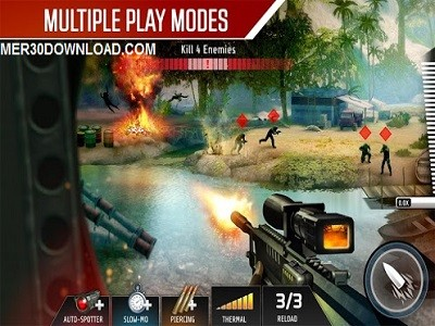تصویری از محیط بازی Kill Shot Bravo 1.7.2