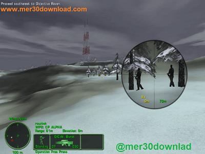 تصویری از محیط بازی Delta Force 3 Land Warrior