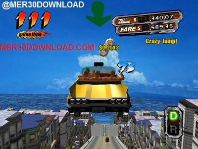 تصویری از محیط بازی crazy taxi 3