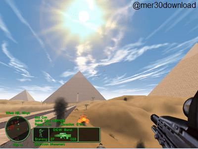 تصویری از نورپردازی خیره کنند بازی به همراه آتش و دود