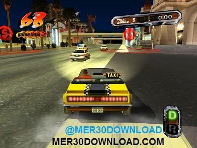 تصویری زیبا از محیط بازی تاکسی دیوانه 3