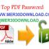 دانلود Top Password PDF Password Recovery 1.70