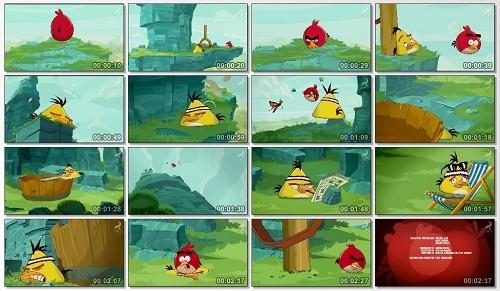 دانلود کارتون پرندگان خشمگین Angry Birds 2016