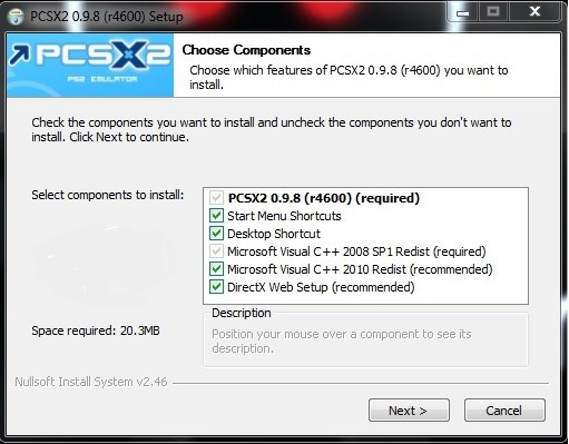 pcsx2-install