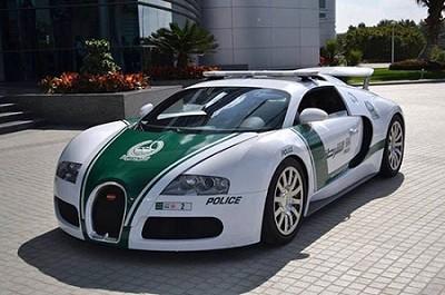 لوکس ترین خودرهای جهان برای پلیس دوبی