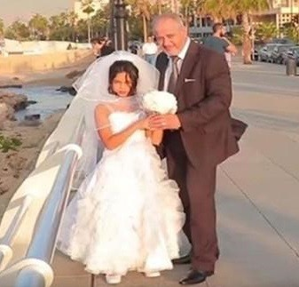 ازدواج دختر 8 ساله با مرد 40 ساله