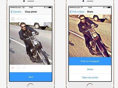 دانلود نرم افزار پریسما برای ایفون – Prisma 2.6 iOS