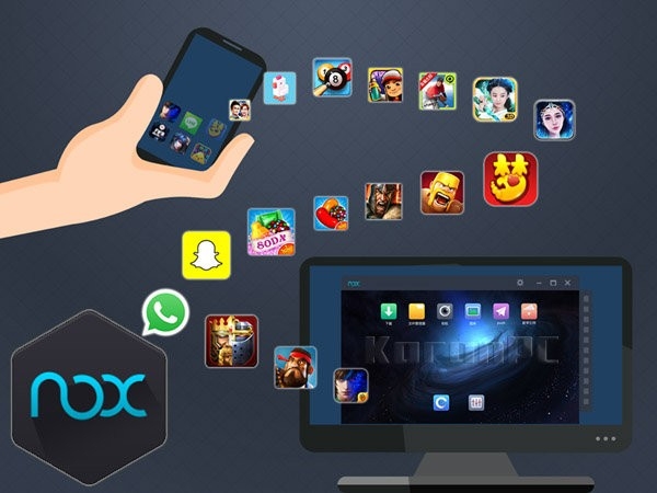 دانلود Nox App Player اجرای برنامه اندروید روی کامپیوتر و ویندوز