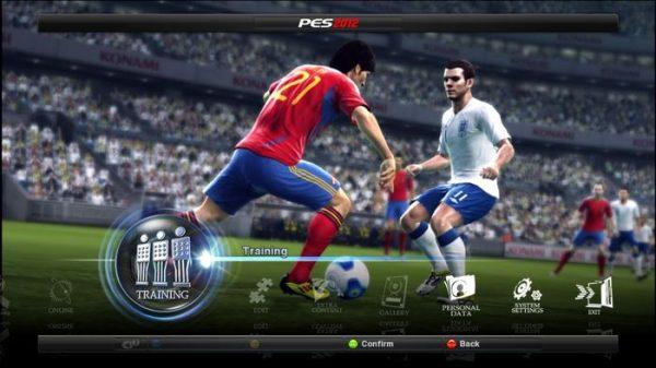 دانلود رایگان بازی PES 2012 برای کامپیوتر