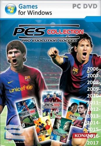 مجموعه بازیهای فوتبال pro evolution soccer