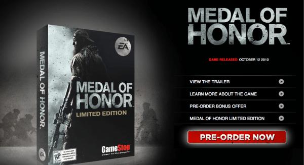 دانلود مدال افتخار 4 - Medal of Honor Limited Edition
