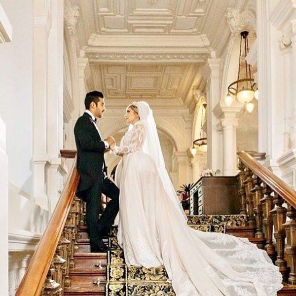 عروسی رضا قوچان نژاد و سروین بیات