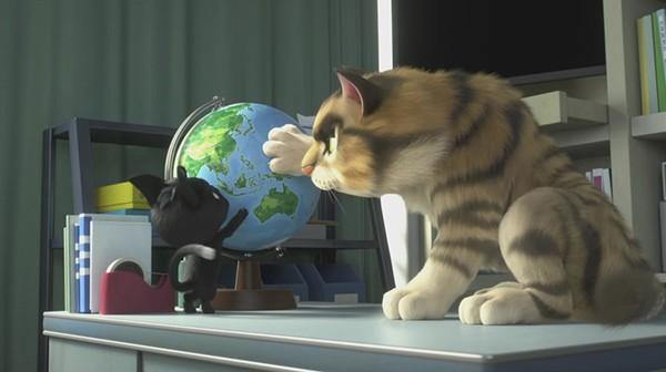 دانلود انیمیشن رودولف گربه سیاه 2016