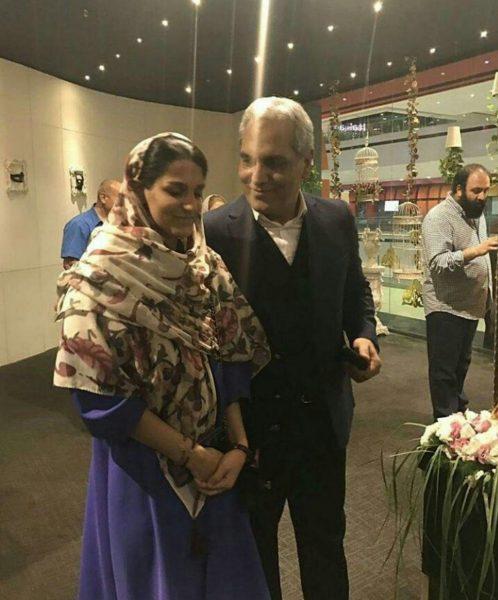 مهران مدیری و دخترش شهرزاد