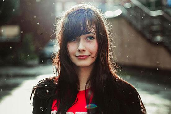 عکس دختر خارجی خوشگل برای پروفایل