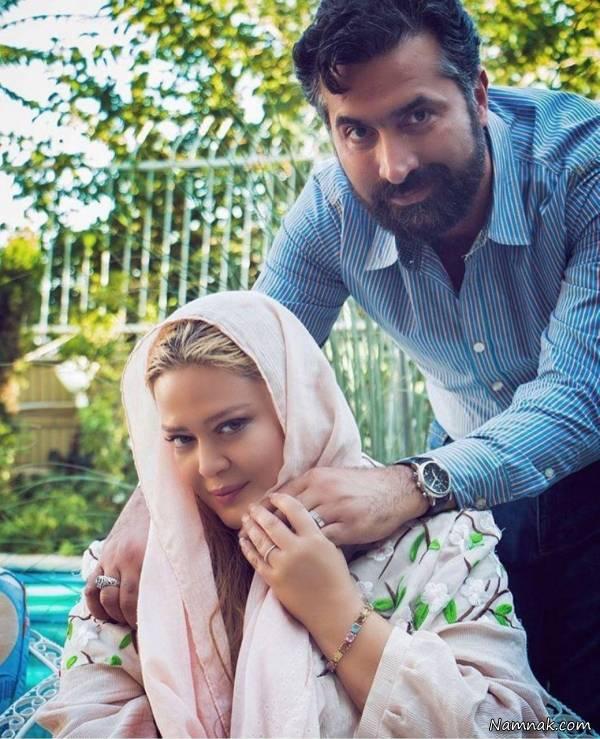 دانلود اولین گفتگوی بهاره رهنما و همسر جدیدش