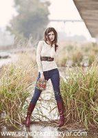 ژست عکس دخترانه ایرانی