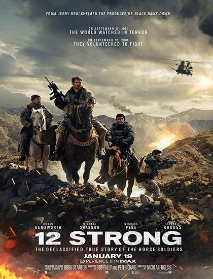 دانلود فیلم 12 نیرومند 12 Strong 2018