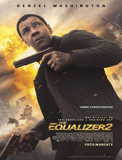 دانلود فیلم اکولایزر 2 The Equalizer 2 2018 دوبله فارسی