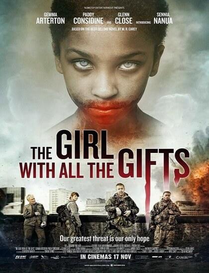 دانلود فیلم دختری با تمام موهبت ها The Girl with All the Gifts 2016 دوبله فارسی