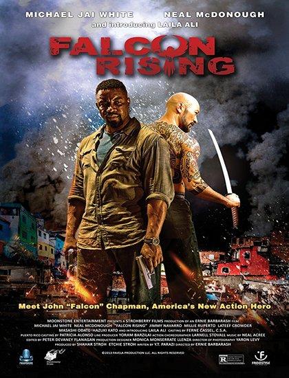 دانلود فیلم قدرت شاهین Falcon Rising 2014 دوبله فارسی