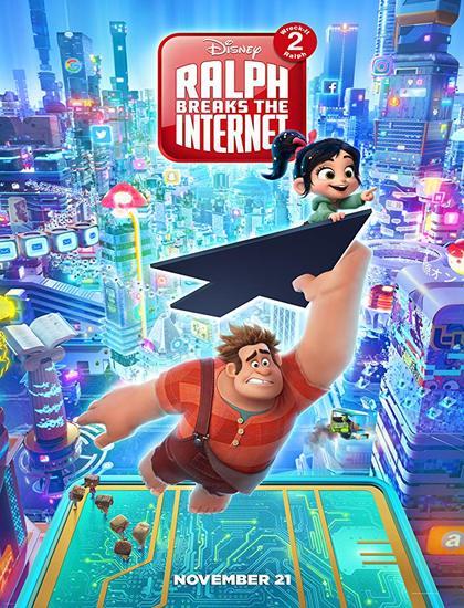 دانلود انیمیشن Ralph Breaks the Internet Wreck-It Ralph 2 2018