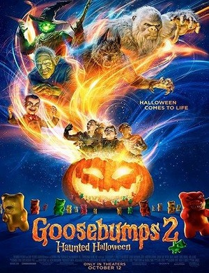 دانلود فیلم مورمور 2 Goosebumps 2 Haunted Halloween 2018