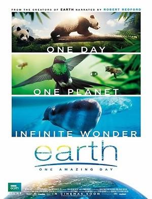 دانلود فیلم زمین یک روز شگفت انگیز 2017 Earth One Amazing Day دوبله فارسی