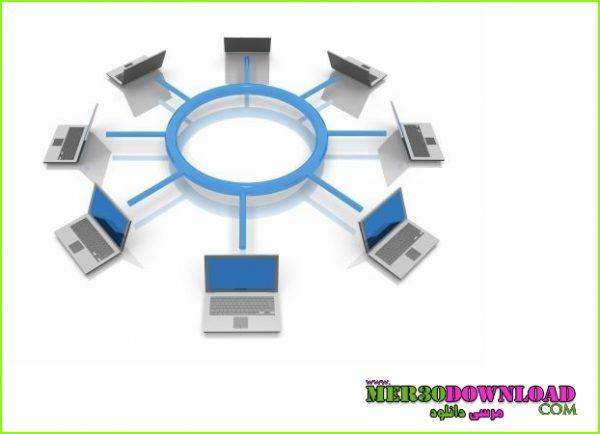 آموزش شبکه کردن کامپیوترها+اموزش تصویری شبکه