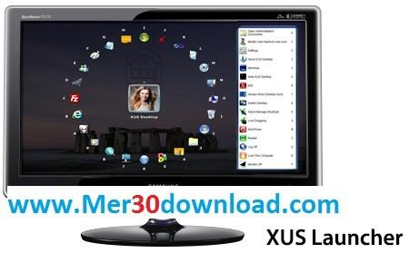 دانلود نرم افزار سازمان دهی ایکون دسکتاپ XUS Launcher Pro 2.5.0