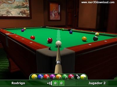 تصویری از محیط بازی DDD Pool v1.2