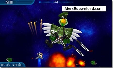 دانلود بازی تیرندازی مرغهای مهاجم Chicken Invaders 5 Halloween Edition