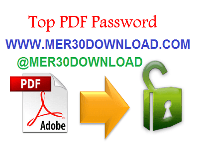 دانلود Top Password PDF Password Recovery 1.70