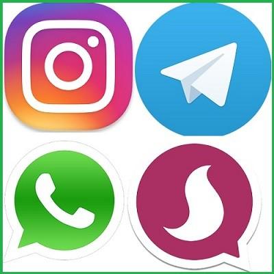 دانلود اینستاگرام , تلگرام , واتس آپ و سروش برای اندروید + نسخه نهایی
