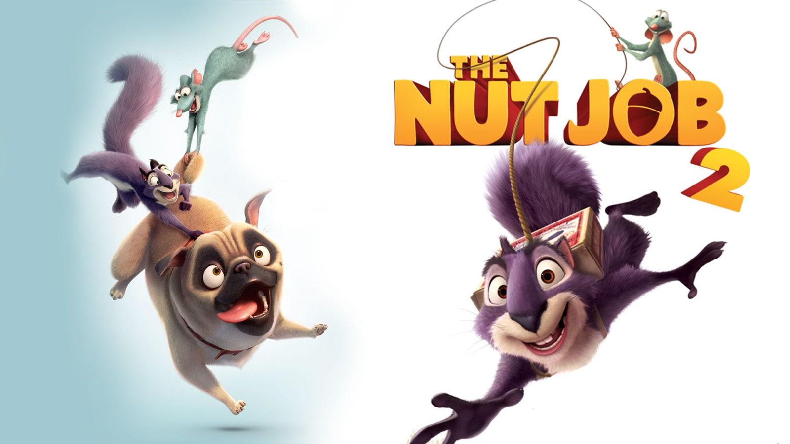 دانلود انیمیشن عملیات آجیلی 2 The Nut Job 2017 دوبله فارسی