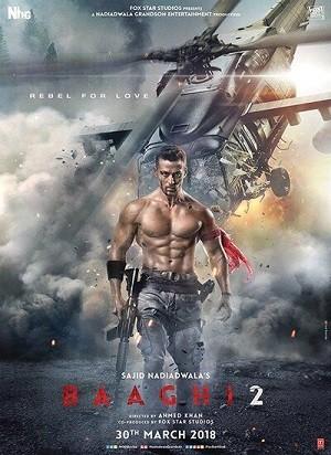دانلود فیلم هندی باقی 2 2018 Baaghi 2 دوبله فارسی