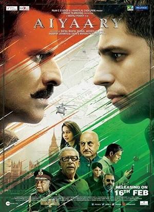 دانلود فیلم هندی تغییر چهره 2018 Aiyaary دوبله فارسی
